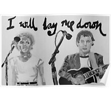 I will lay me down Poster