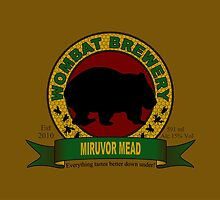 Wombat Brewery: Miruvor Mead by pixhunter