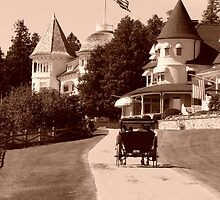 Carriage Ride in Mackinac Island by TammeFawn