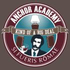 Anchor Academy - College Seal shirt by Matt Teleha