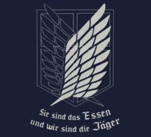 Reluctant Heroes T-Shirt / Phone case 4 - Shingeki no Kyojin by Fenx