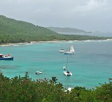 Mustique Bay by DarthIndy