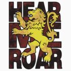 House Lannister: Hear Me Roar by digital-phx