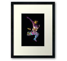 hip hop galaxy 2 Framed Print
