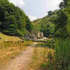Southern End of Wolfscote Dale by Rod Johnson