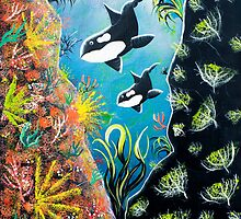 Killer Whale Magic by Glenn Russell