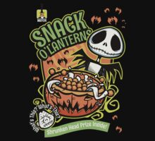 Snack O'Lanterns! by nikholmes
