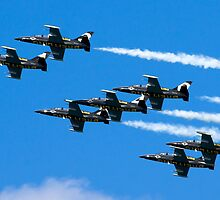 Breitling air display team L-39 Albatross by PhotoStock-Isra