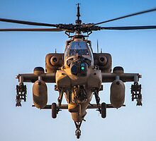 Apache AH-64A (Peten) Helicopter in flight by PhotoStock-Isra