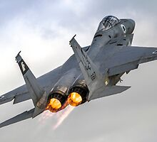 Israeli Air force (IAF) Fighter jet F-15 (BAZ) in flight by PhotoStock-Isra