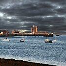 Stormy Sky Broughty Ferry, Scotland.  by Forfarlass