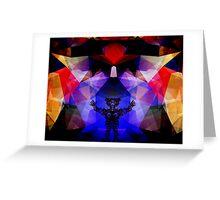 Geometry of The Sun Warrior Greeting Card