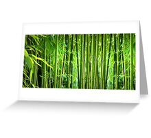 Bamboo Greeting Card
