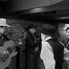 Singers on Alvera St., Los Angeles. by philw