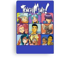 The Tenchi Bunch Canvas Print