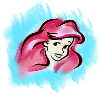 Ariel WaterColour by EAMS