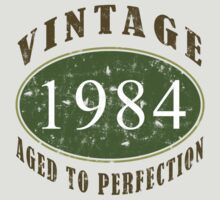 Vintage 1984, 30th Birthday T-Shirt by thepixelgarden
