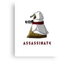 Assassin's Dalek Canvas Print