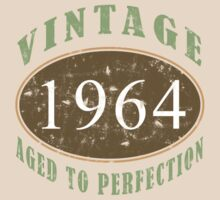 Vintage 1964, 50th Birthday T-Shirt by thepixelgarden