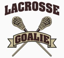 Lacrosse Goalie by SportsT-Shirts