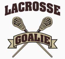 Lacrosse Goalie by SportsT-Shirts