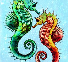 LOVE SEAHORSES by STUDIO 88 TARANAKI NZ