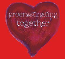 procrastinating together Kids Clothes