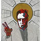 Christopher Hitchens by Adrian Covert