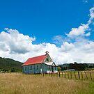 Omaio church by donnz
