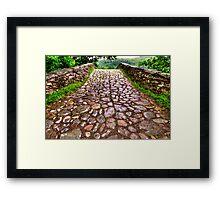 The Packhorse Bridge Framed Print