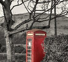 Rural Phone Box by AndyHuntley