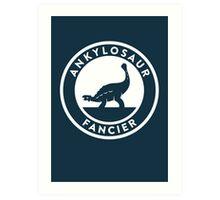 Ankylosaur Fancier Print Art Print