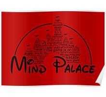 Mind Palace - (black text) Poster