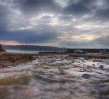 St Brelade Bay II by Mark Bowden