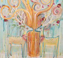 Deer Spring by JulianaLachance