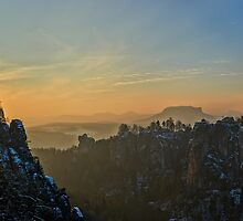 """Wide Saxony Switzerland"" by Andreas Koerner"