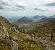 Views From The Ascent Of Bowfell by FyldePhotos