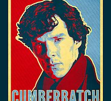 The Definitive Holmes - Cumberbatch (Card) by ifourdezign