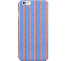 Pink/Blue Stripe Phone Case iPhone Case/Skin