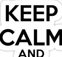 Keep Calm and Use Splash Sticker