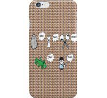 Rock, Paper, Scissors, Lizard, Spock iPhone Case/Skin