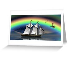Story Book Voyage Greeting Card