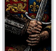HENRY V - FAUX THEATRE POSTER by Bradley Rubac