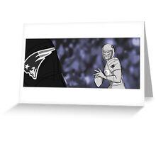 Tom Brady Storyboard Greeting Card