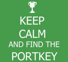 Keep calm and find the portkey by Attare