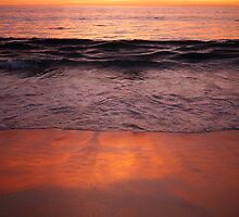 Sunset Cottesloe Beach by Alethea Rea