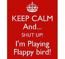 Flappy Bird red Photographic Print