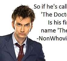 Non-Whovian Question by irishalien