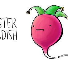 Jester Radish by cheezup