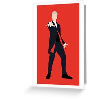 12th Doctor Peter Capaldi Greeting Card
